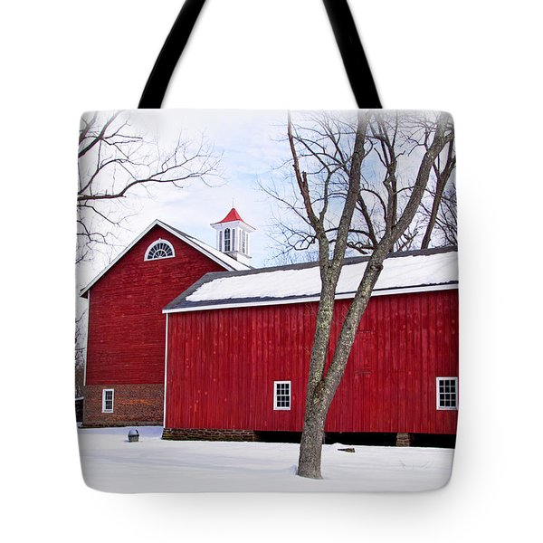 Barn At Tinicum Park Tote Bag