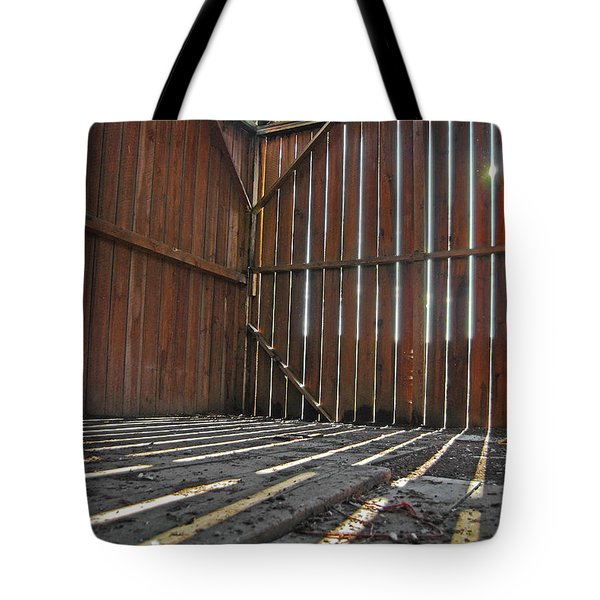 Tote Bag featuring the photograph Barn Bones I by Jani Freimann