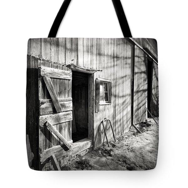 Barn Doors Tote Bag