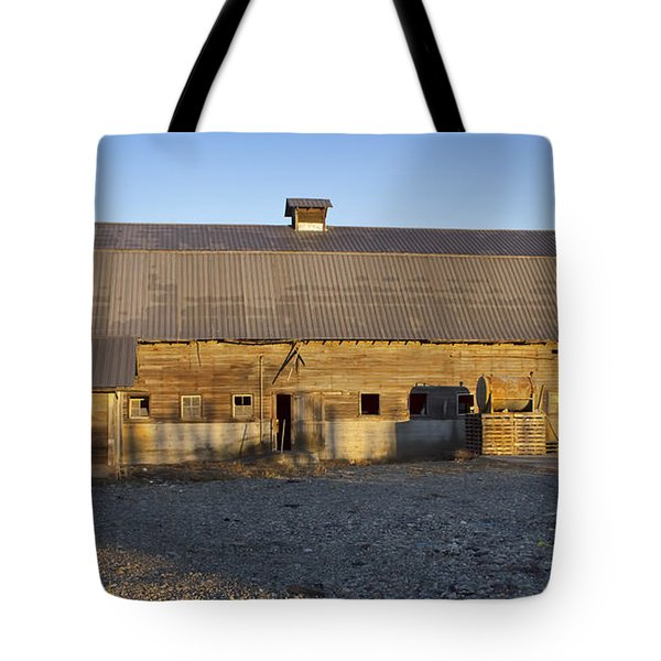 Barn In Rural Washington Tote Bag