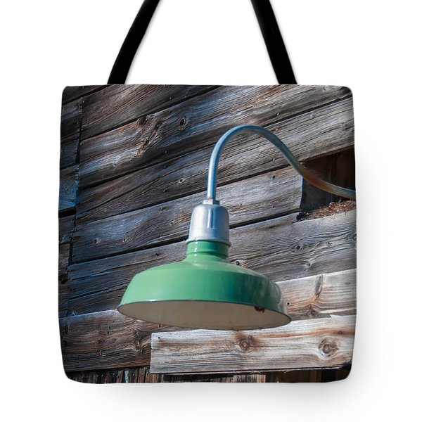 Barn Light Tote Bag by Guy Whiteley