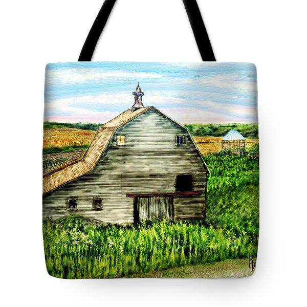 Barn Near Stanton Nebraska Tote Bag