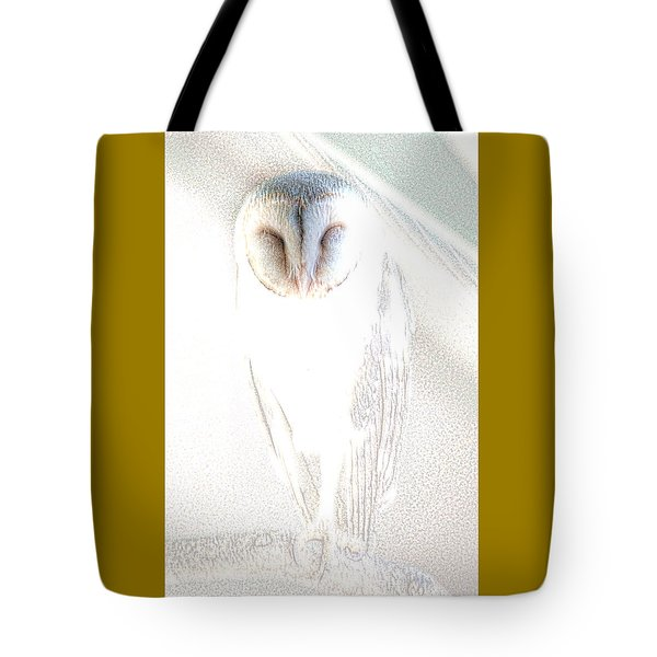 Barn Owl Tote Bag by Holly Kempe