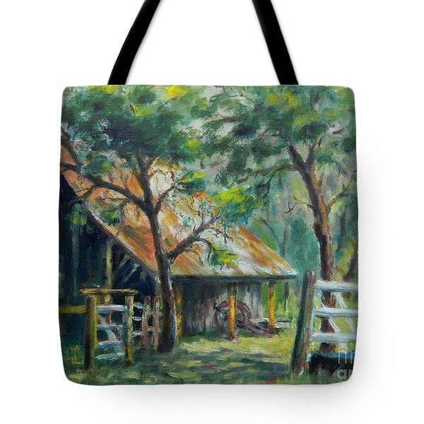 Barn Quilt Tote Bag by William Reed