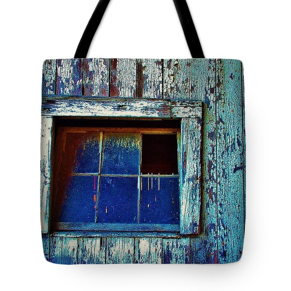 Barn Window 1 Tote Bag