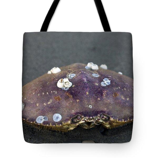 Barnacled Crab Shell Tote Bag