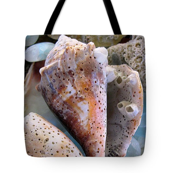 Barnacles Tote Bag by Colleen Kammerer