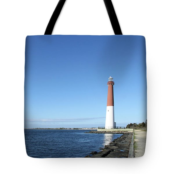 Barnegat Light - New Jersey Tote Bag by Christiane Schulze Art And Photography