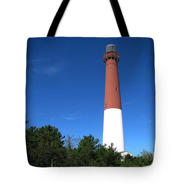 Barnegat Lighthouse Tote Bag by Colleen Kammerer