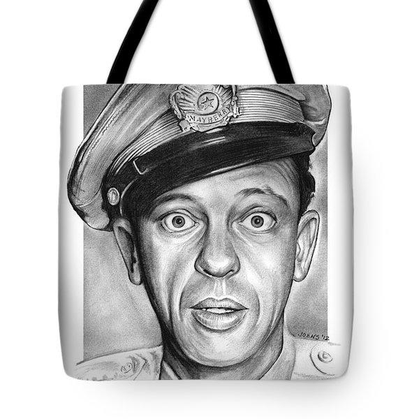 Barney Fife Tote Bag