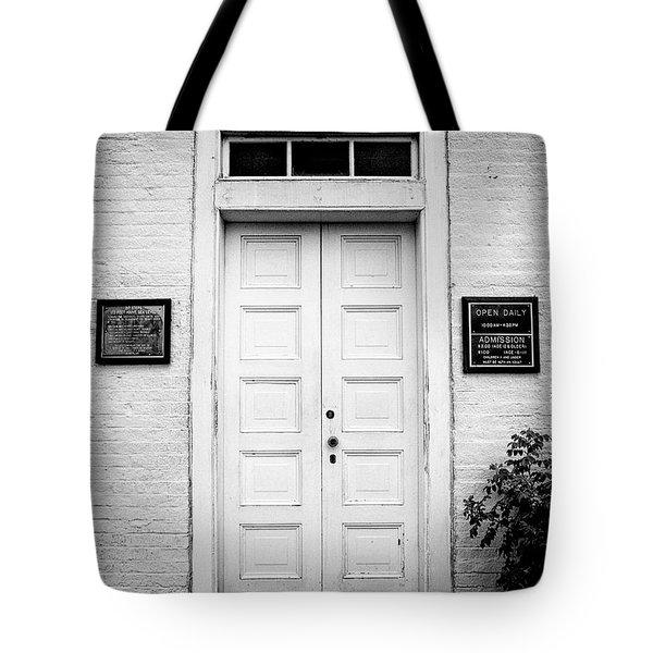 Barney's Doors Tote Bag