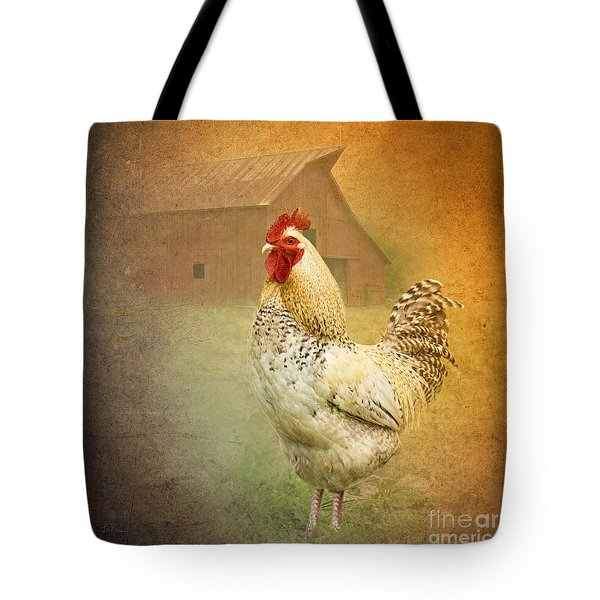 Barnyard Boss Tote Bag