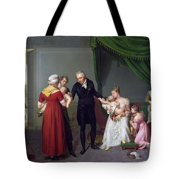 Baron Jean Louis Alibert Tote Bag