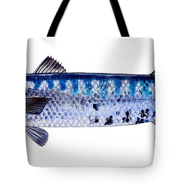 Barracuda Tote Bag by Carey Chen