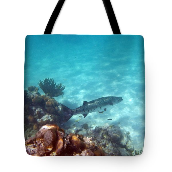 Tote Bag featuring the photograph Barracuda by Eti Reid