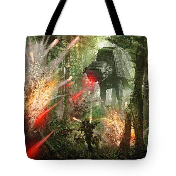 Barrage Attack Tote Bag