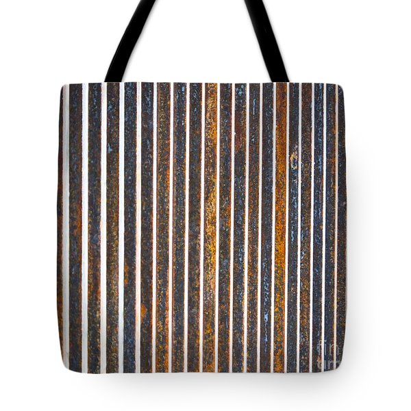 Tote Bag featuring the photograph Barred by Kristen Fox