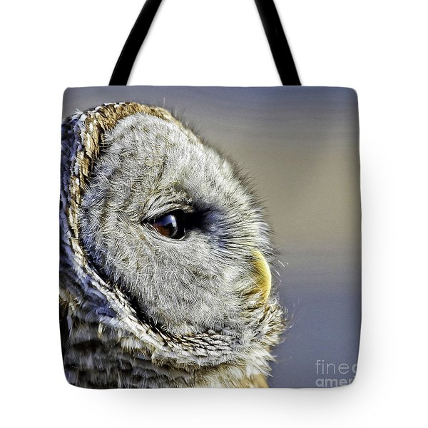 Barred None Tote Bag