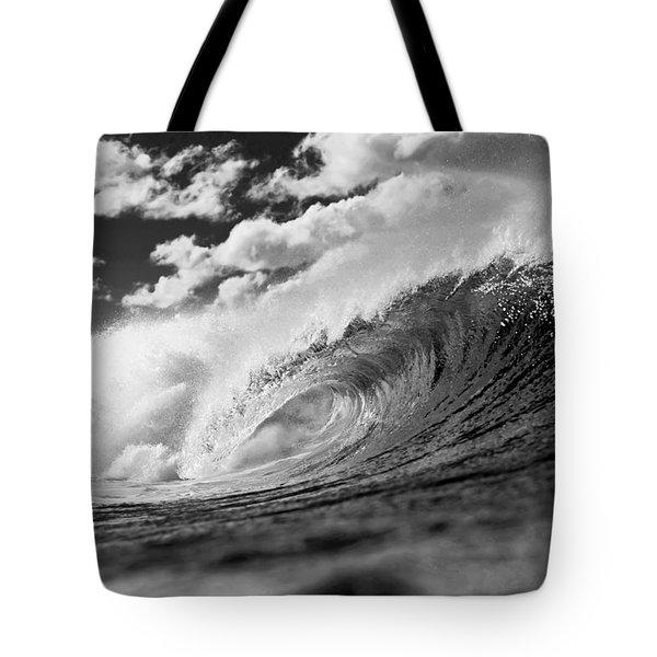 Barrel Clouds Tote Bag by Sean Davey