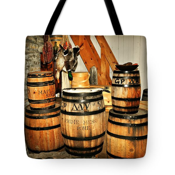 Barrels  Tote Bag by Marty Koch