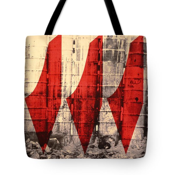 Barriers To Statehood, 1992 Screen Print On Canvas Tote Bag