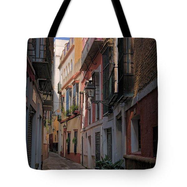 Barrio Santa Cruz Seville Tote Bag