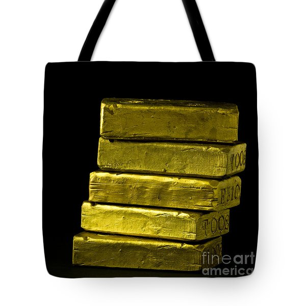 Bars Of Gold Tote Bag