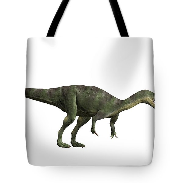 Baryonyx Walkeri, Early Cretaceous Tote Bag by Nobumichi Tamara