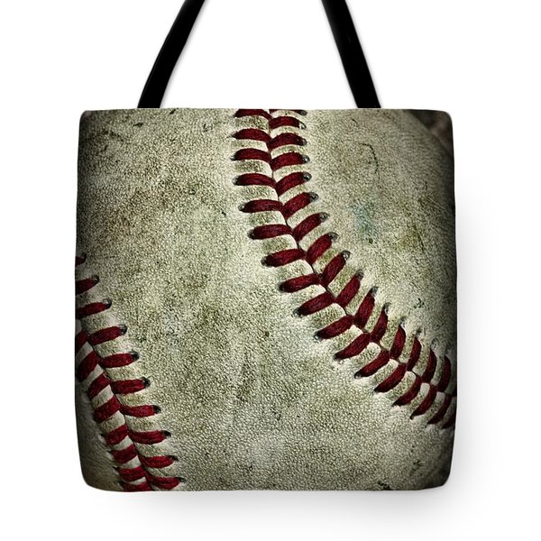 Baseball - A Retired Ball Tote Bag by Paul Ward