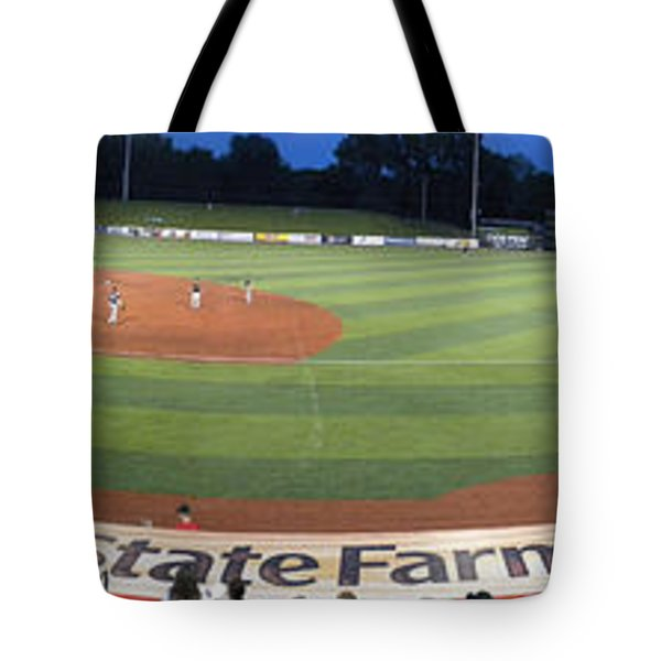 Baseball America's Past Time Tote Bag by Thomas Woolworth