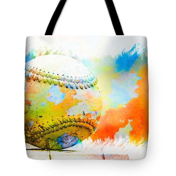 Baseball- Colors- Isolated Tote Bag