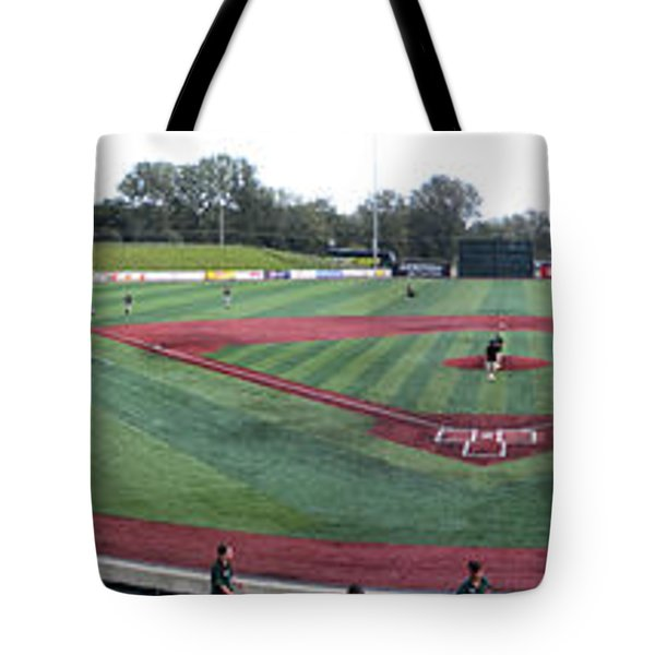 Baseball Early Fan Arrival Tote Bag by Thomas Woolworth