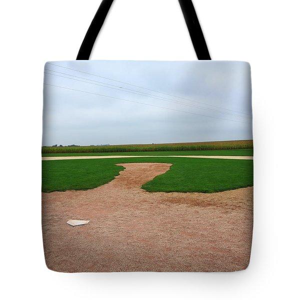 Baseball Tote Bag by Frank Romeo