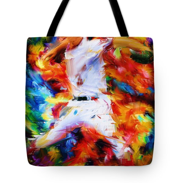 Baseball  I Tote Bag by Lourry Legarde