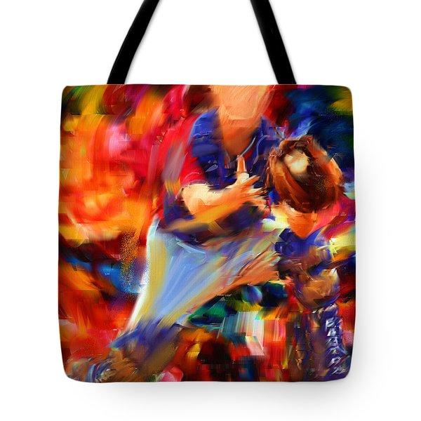 Baseball II Tote Bag by Lourry Legarde