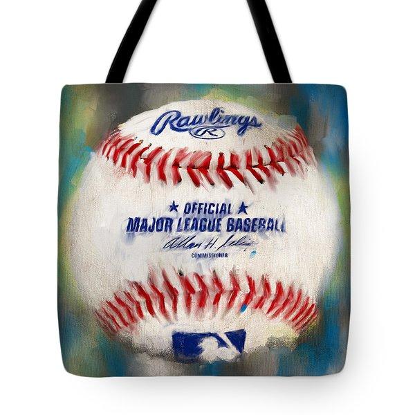 Baseball Iv Tote Bag by Lourry Legarde
