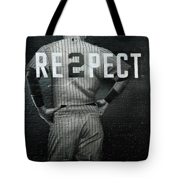 Baseball With Jeter Tote Bag