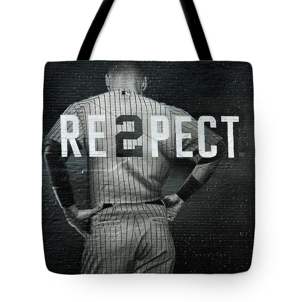 Baseball Tote Bag by Jewels Blake Hamrick