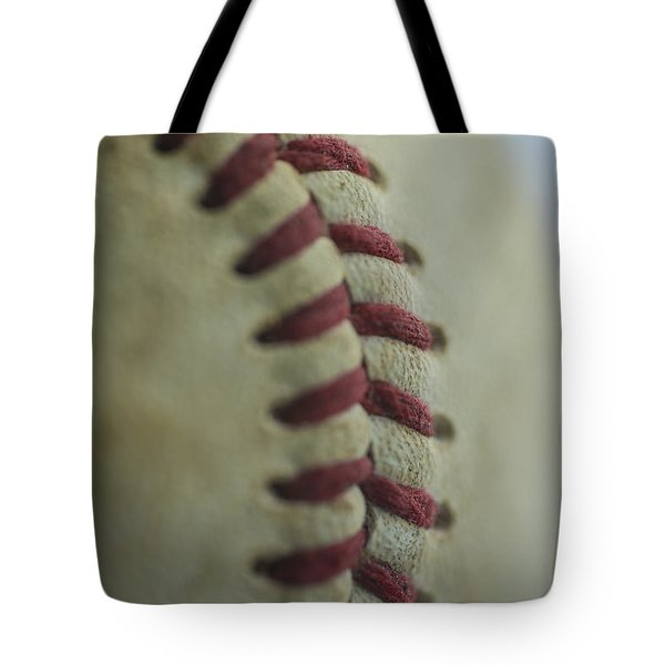 Baseball Macro 2 Tote Bag