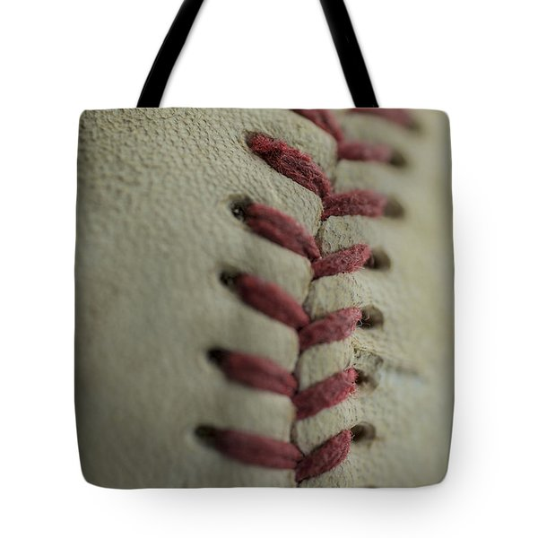 Baseball Macro Tote Bag