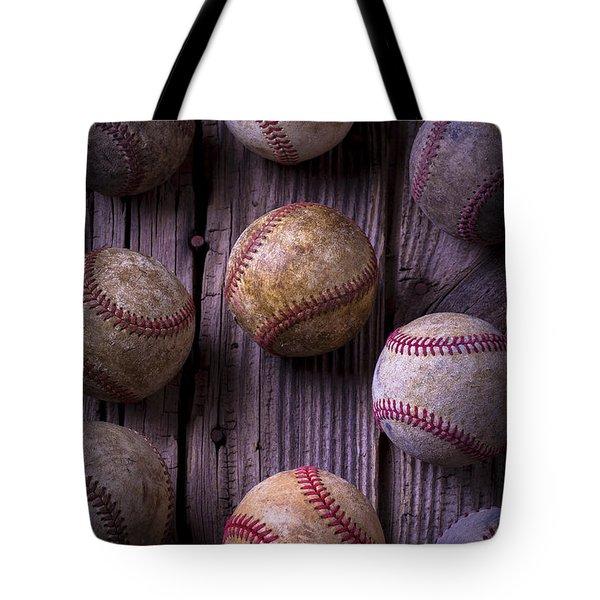 Baseball Memories Tote Bag by Garry Gay