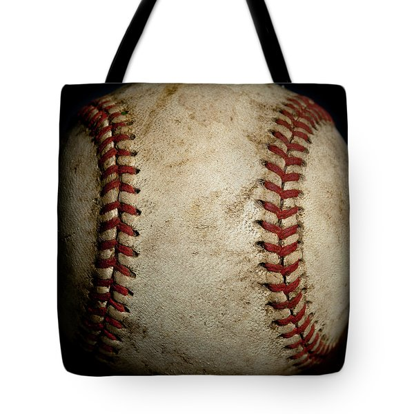 Baseball Seams Tote Bag by David Patterson