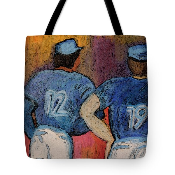 Baseball Team By Jrr  Tote Bag by First Star Art