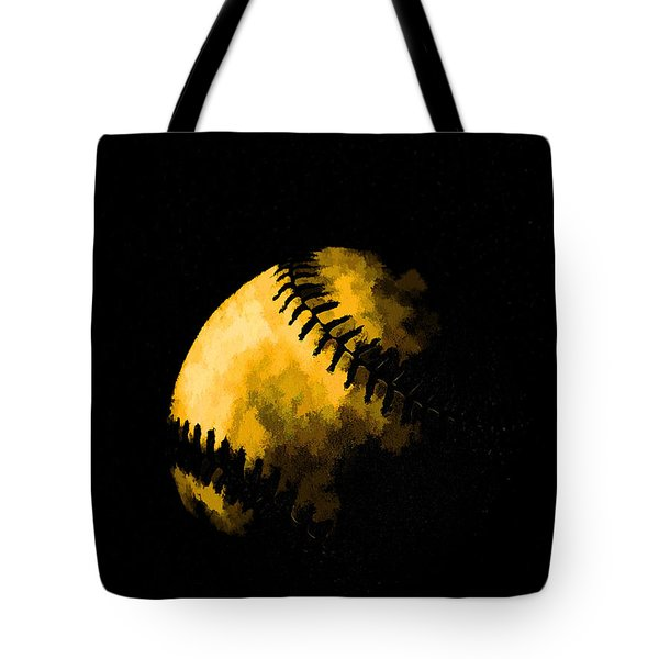 Baseball The American Pastime Tote Bag by Edward Fielding