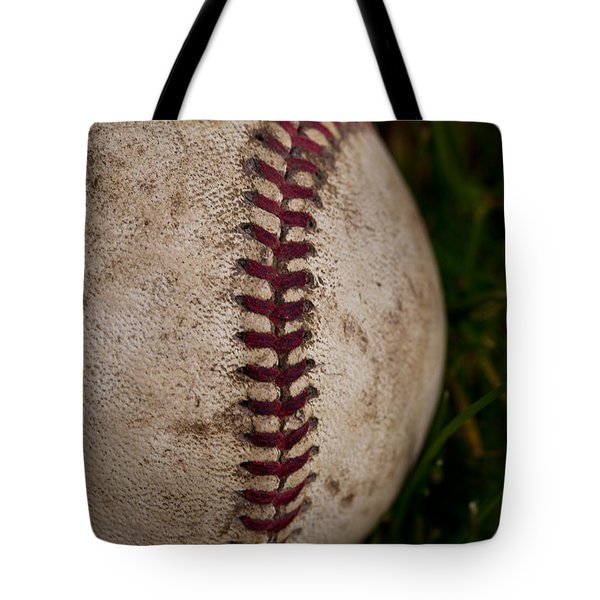 Baseball - The National Pastime Tote Bag by David Patterson