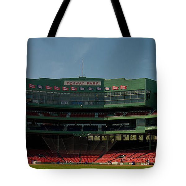Baseballs Hollowed Ground Tote Bag by Paul Mangold