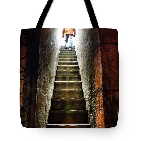 Basement Exit Tote Bag
