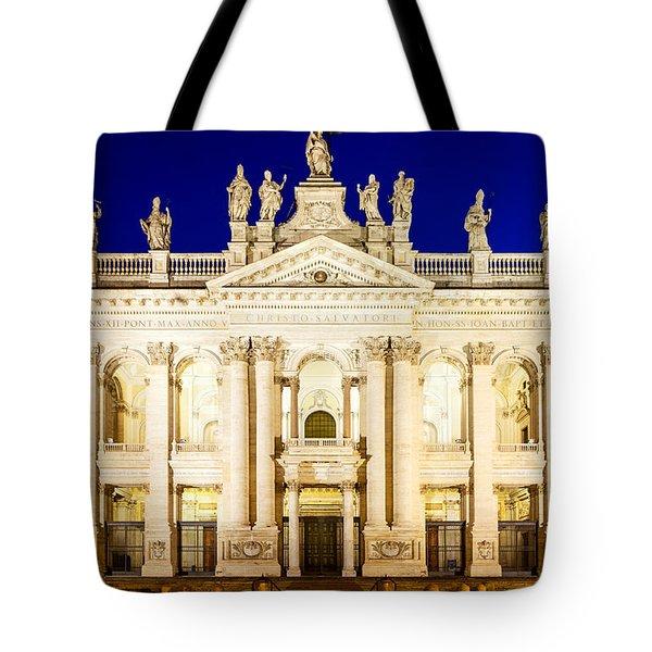 Basilica Di San Giovanni In Laterano Tote Bag