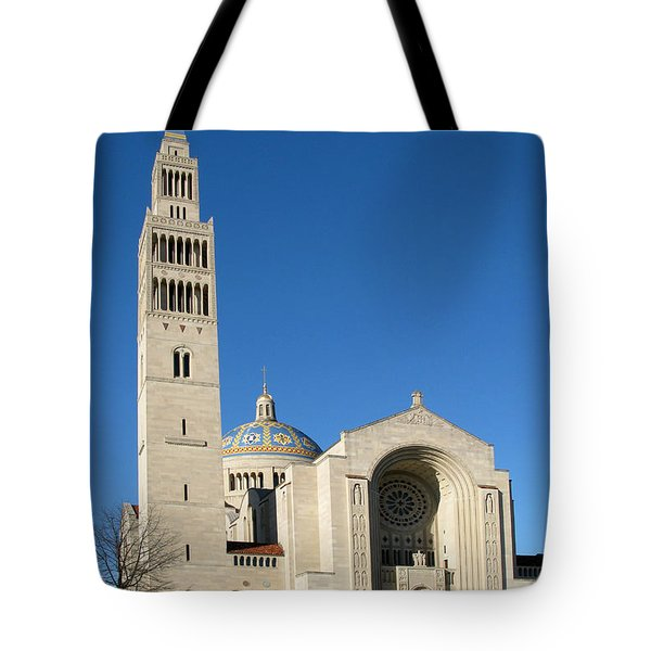 Basilica In Washington Dc Tote Bag