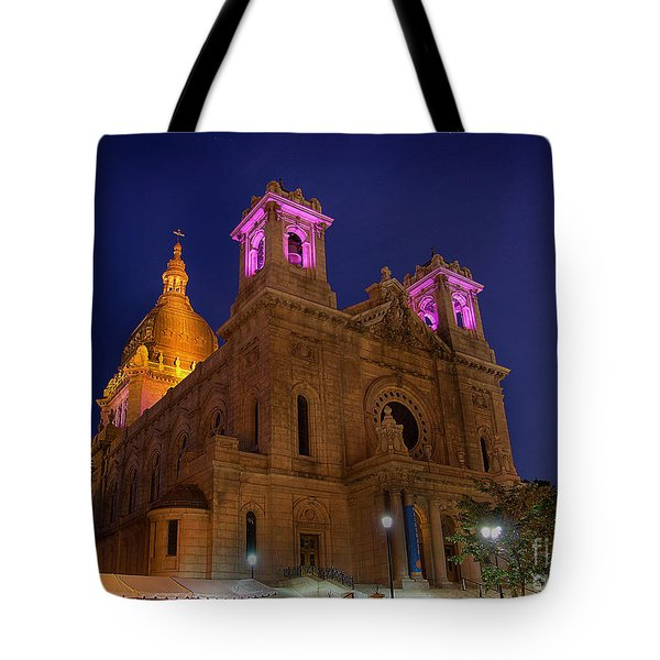 Basilica Of Saint Mary Minneapolis Tote Bag